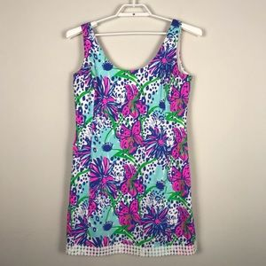 Lilly Pulitzer Eaton Shift Dress In the Garden R12